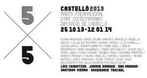 5x5Castelló2013 EACC Álvaro de los Ángeles El Convent-Espai d'Art